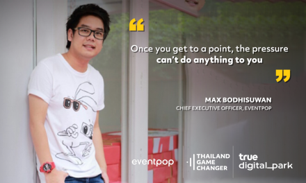 EP 20 – Max Bodhisuwan – Eventpop – All your friends are getting jobs, but you are doing your own thing