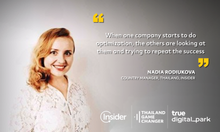 EP 23 – Nadia Rodiukova – Country Manager, Thailand – Insider – It's just because companies don't have the technological power to do it in real-time