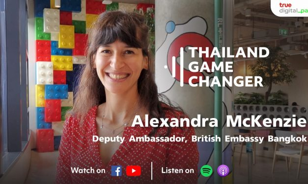 EP 45 – Alexandra McKenzie – Deputy Ambassador at British Embassy Bangkok – Climate Change, COP26 and the TDPK Hackathon